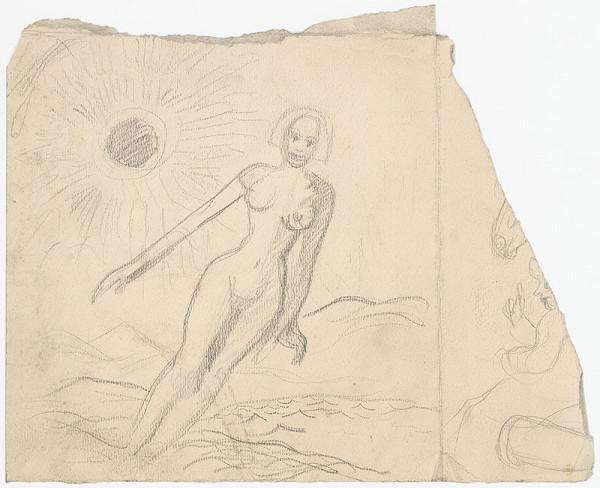 Arnold Peter Weisz-Kubínčan – Female Nude in a Landscape