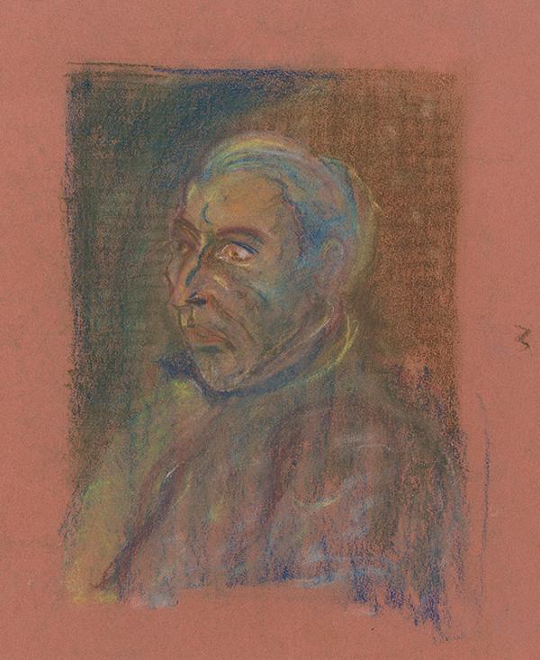 Arnold Peter Weisz-Kubínčan – Portrait of a Man