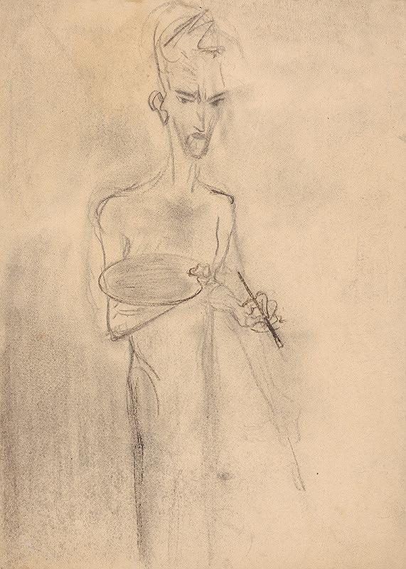 Arnold Peter Weisz-Kubínčan – Self-Portrait