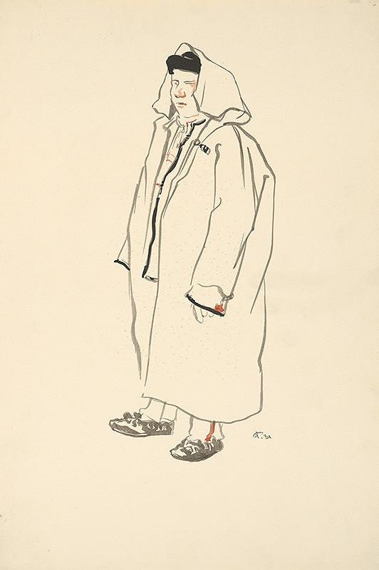 Jaroslav Vodrážka – Man in a Smock