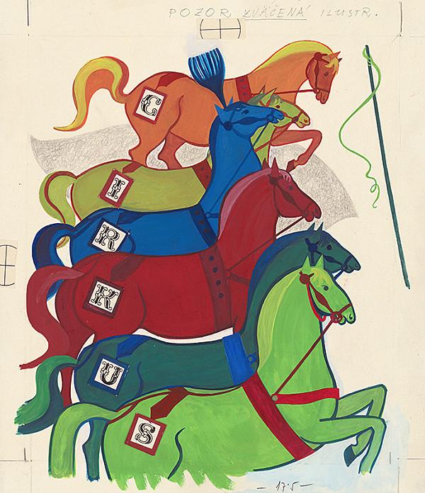 Viera Gergeľová – Horses
