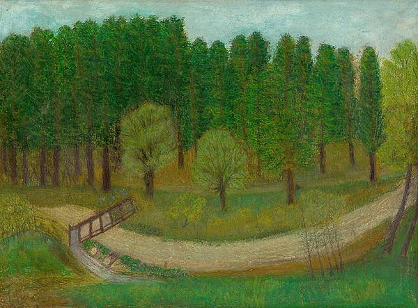 Zuzana Virághová - Potok v lese