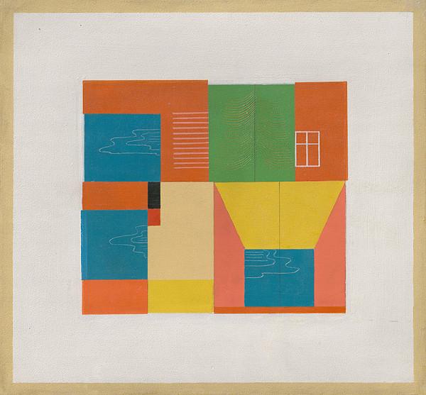 Ľudovít Fulla – Abstract Composition