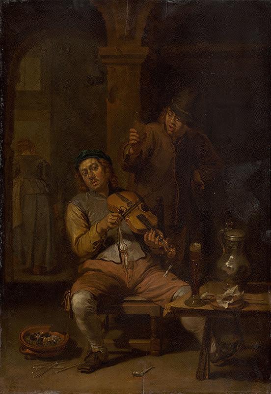 Willem van Herp I. – Village Violinist