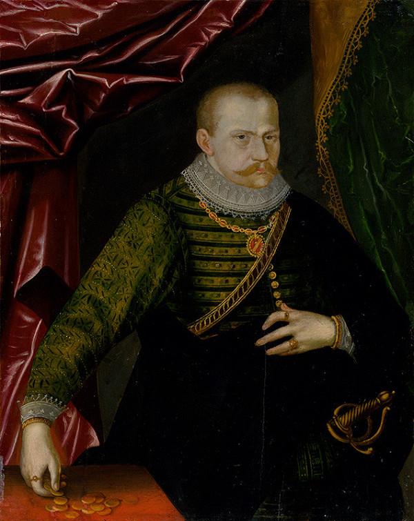 Nemecký maliar, Nemecký maliar z okruhu Cranacha - Portrait of Saxon Prince-Elector