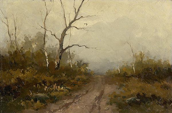 Felicián Moczik – Forest Motif