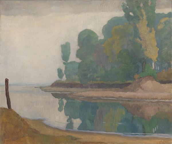 Július Koreszka – Trees by the River