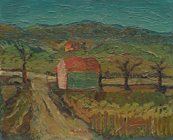 Ľudovít Kudlák - Landscape by a Dynamite Factory