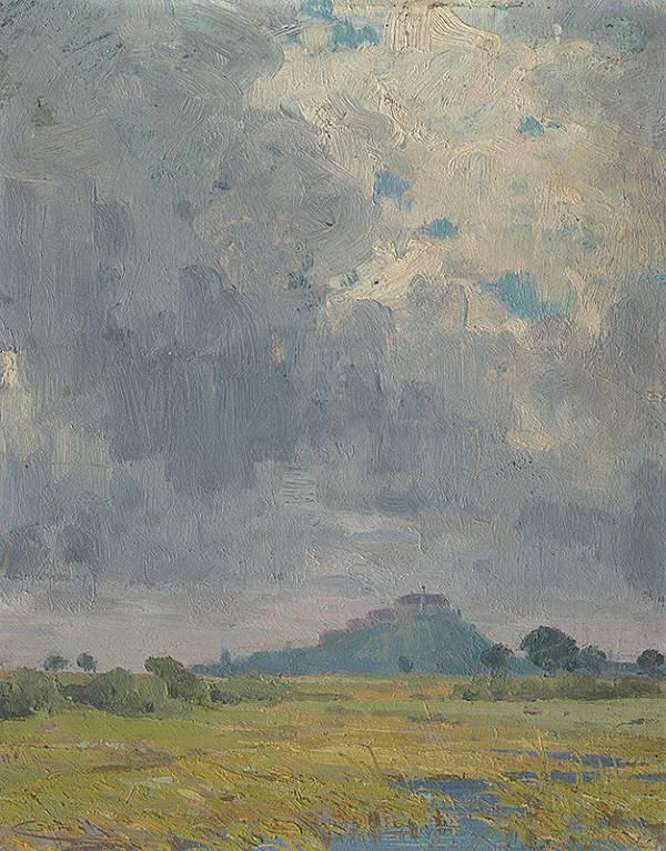 Ľudovít Čordák – Landscape with a Castle