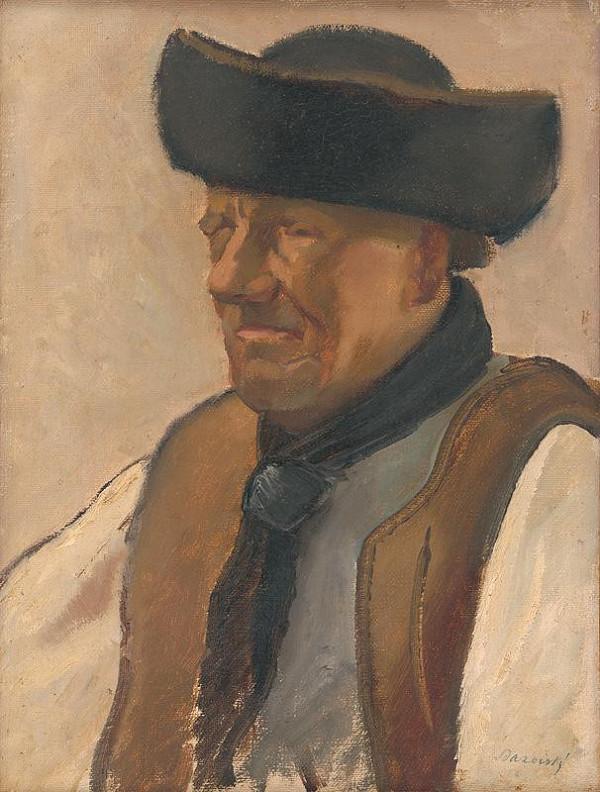 Miloš Alexander Bazovský – Study of an Old Man