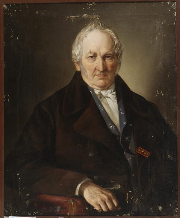 Alexander Rosenberg – Portrait of a Seated Man