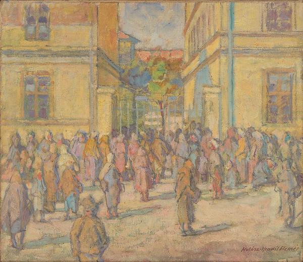 Elemír Halász-Hradil - Lunch of the Poor