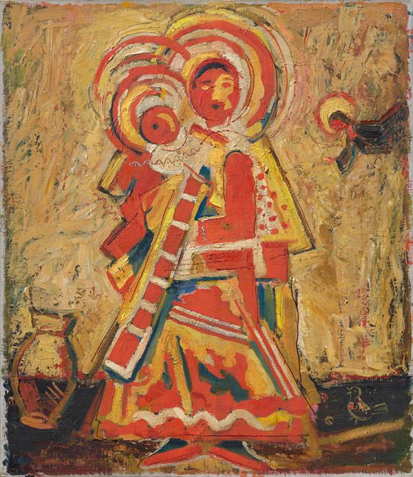 Ľudovít Fulla – Madonna with Angel