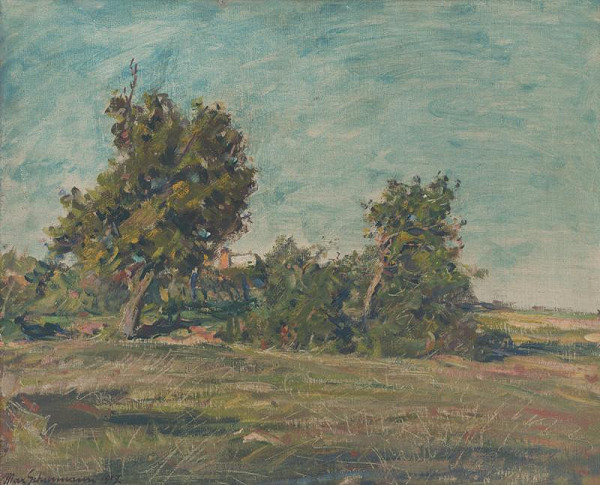 Maximilián Schurmann – Landscape around Nitra
