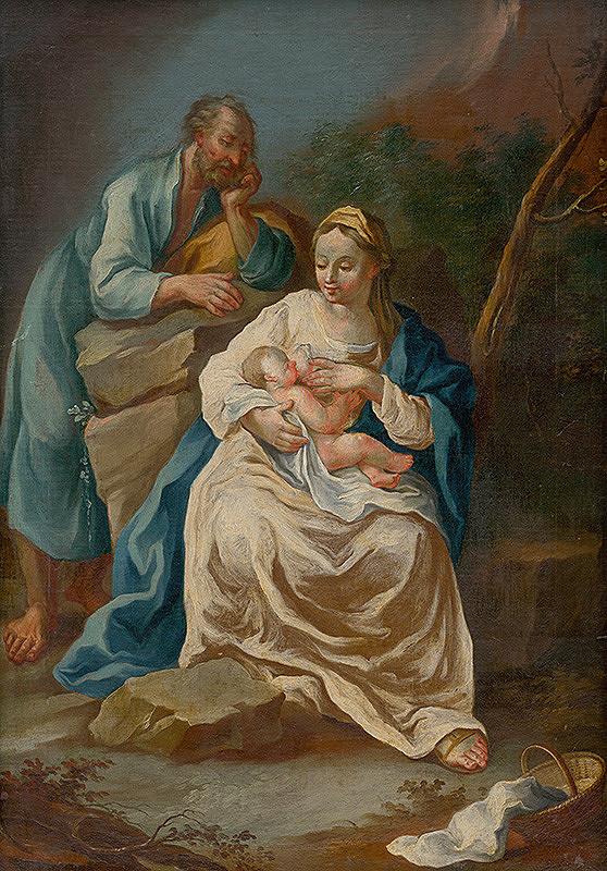 Slovenský maliar z konca 18. storočia, Neznámy maliar - The Holy Family