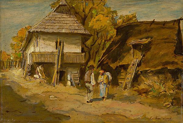 Alexander Kubínyi - Motif from Leštiny
