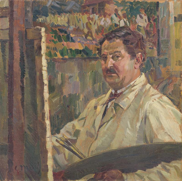 Gustáv Mallý – Self-Portrait