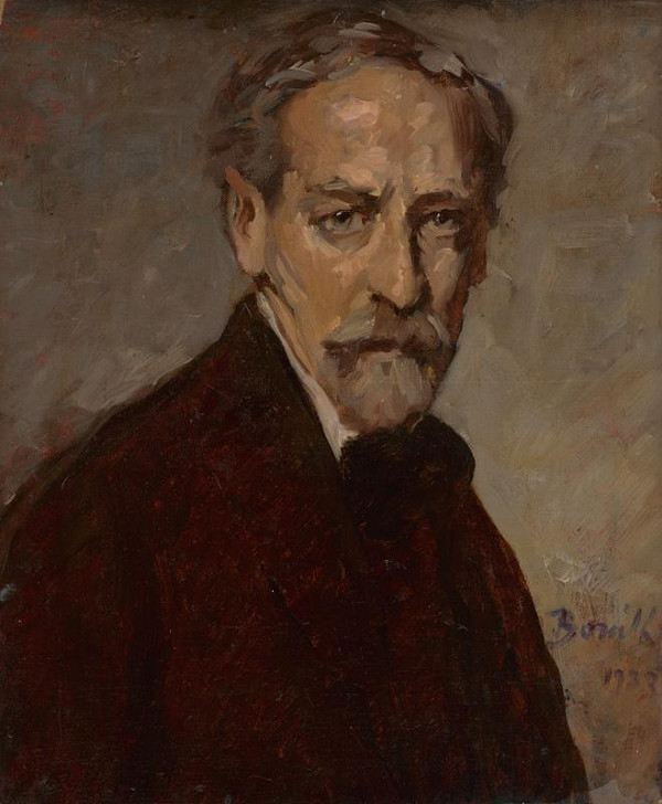 Andor Borúth – Self-Portrait
