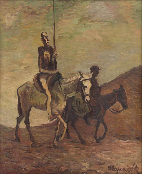 Cyprián Majerník – Don Quichotte and Sancho Panza