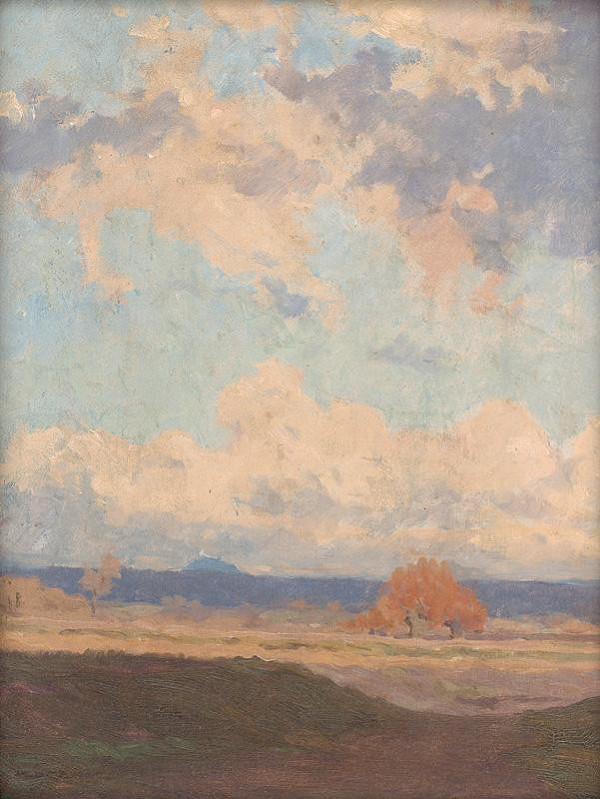 Július Koreszka – Spring Clouds over Branč