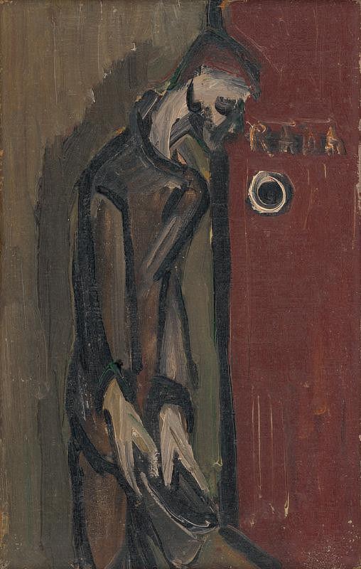 František Studený – In front of the Door
