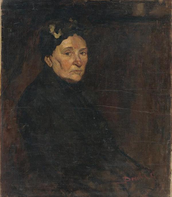Andor Borúth – Portrait fo a Lady