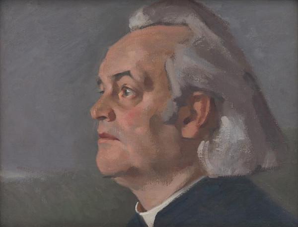 Milan Thomka Mitrovský - Portrait of Msgr. Alojz Kolíska