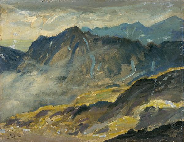 Otakar Štáfl – View from Rysy