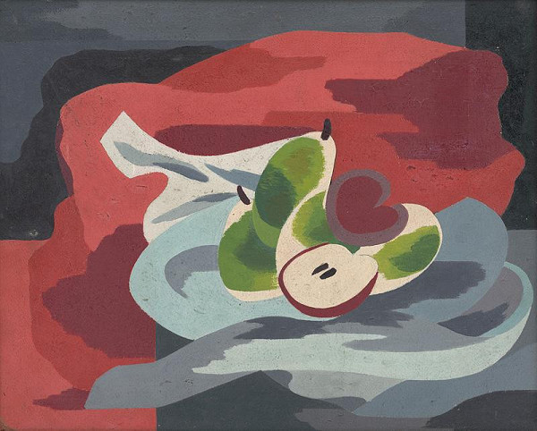 Ester Šimerová-Martinčeková - Still Life with Apples