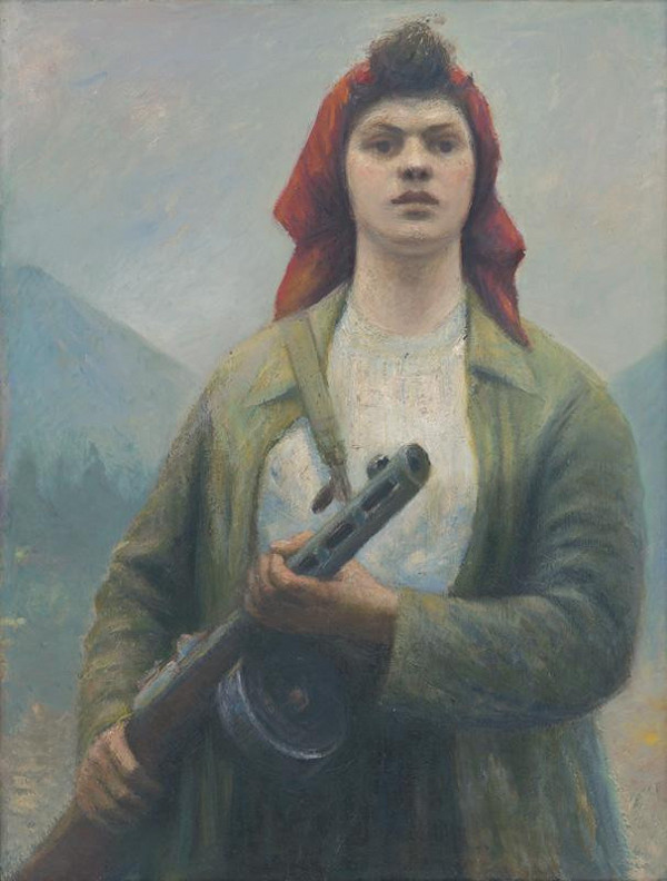 Ján Mudroch - Partisan on Guard under the Rozsutec Mountain