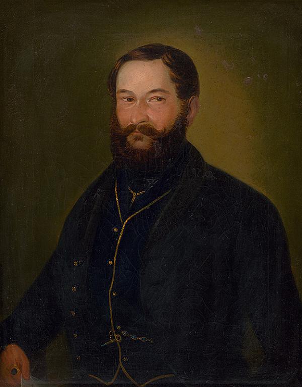 Maximilián Ratskay – Portrait of Martin Turánsky