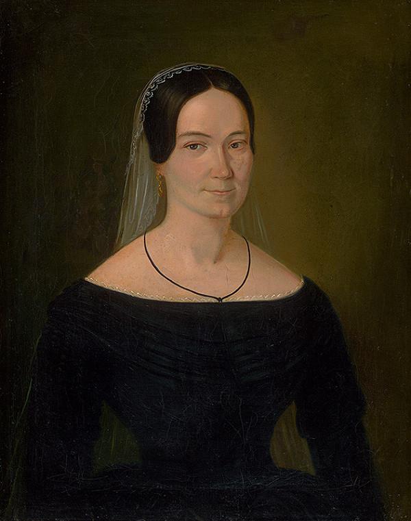 Maximilián Ratskay – Portrait of Mrs. Turánskej