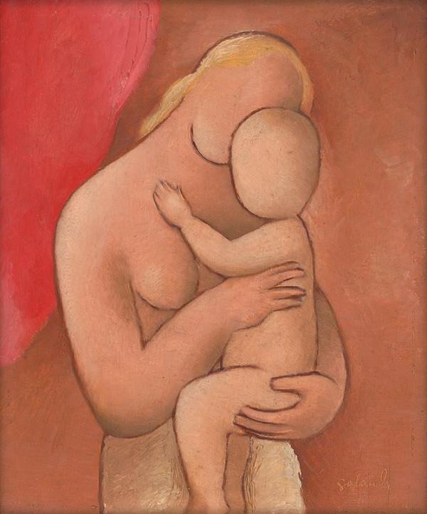 Mikuláš Galanda - Mother with Child