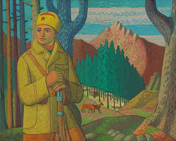 Štefan Bednár - Partisan in the Mountains