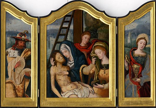 Pieter Coecke van Aelst st. – Lamentation Triptych. Mary Magdalene