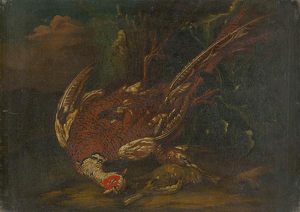Stredoeurópsky maliar z 1. polovice 18. storočia – Still Life with Guinea Fowl
