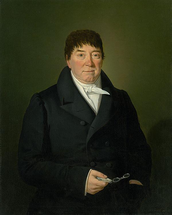 Stredoeurópsky maliar z 1. polovice 19. storočia - Portrait of a Citizen