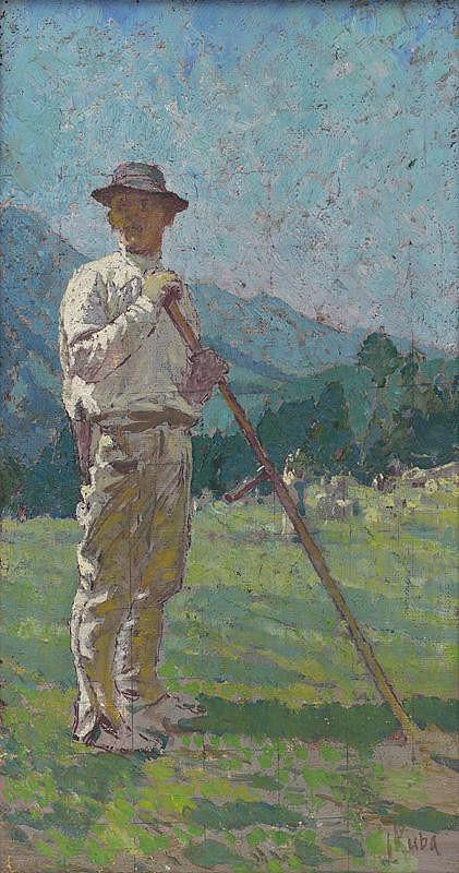 Ludvík Kuba – Study of a Harvestman