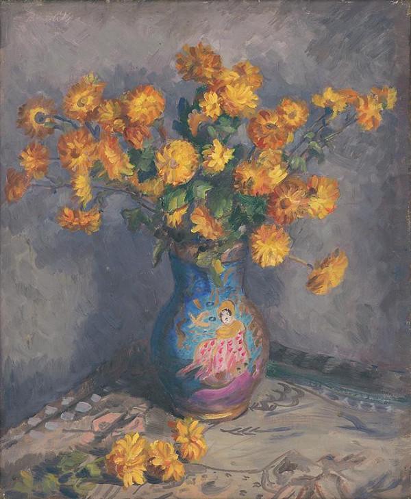 Jozef Bendík - Still Life with Flowers