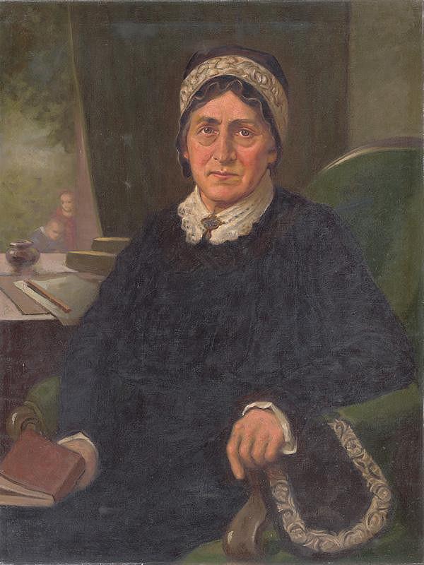 Milan Thomka Mitrovský - Portrait of E. M. Šoltésová