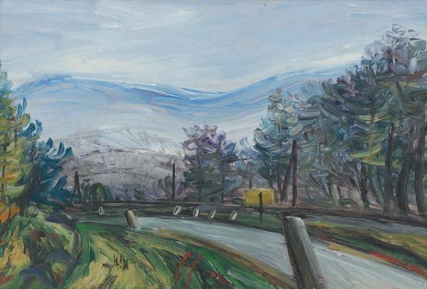 František Studený – Landscape around Rajecké Teplice