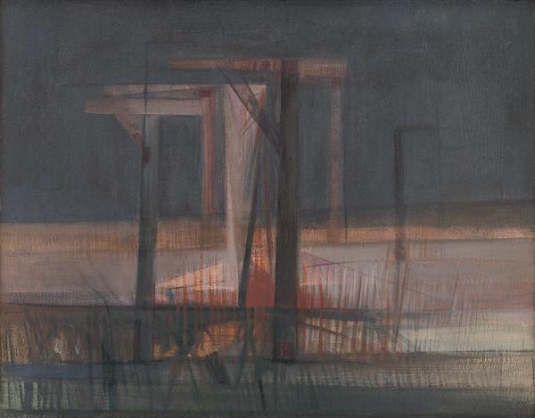 Bohdan Lacina – Landscape with Gallow