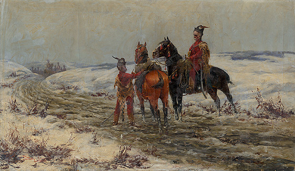 Ladislav Pataky – Kurucs on their Horses