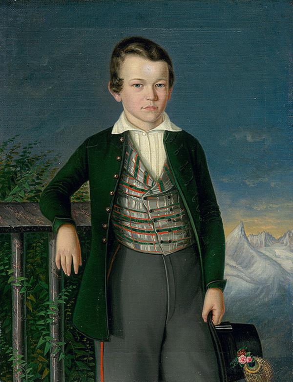 Peter Michal Bohúň – Portrait of Juraj Várady-Szakmáry