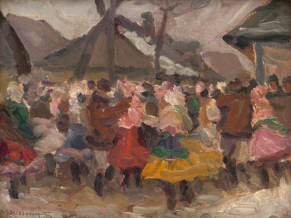 Teodor Jozef Mousson – Study of Folk Merrymaking