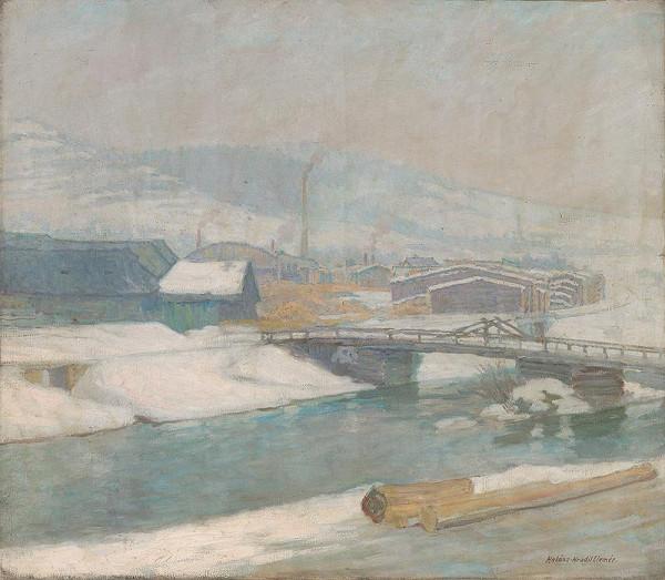 Elemír Halász-Hradil – Margecany Mill