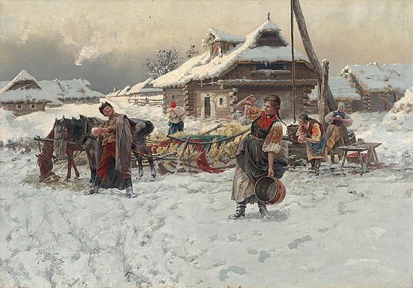 Jaroslav Věšín – Snowball Fight