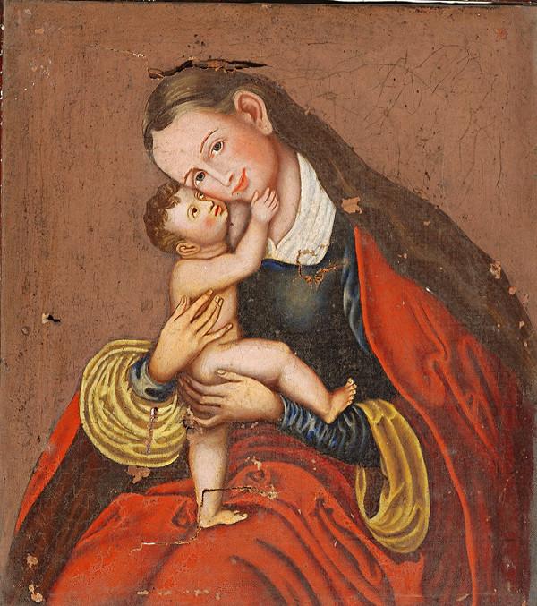 Stredoeurópsky maliar z 19. storočia – Madonna