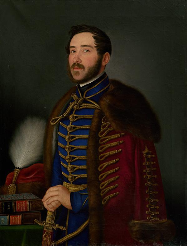 Jozef Czauczik – Portrait of an Officer