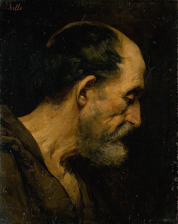 Eduard Ballo – Head Study of an Old Man